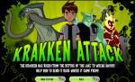 Бен 10:Бен 10 игры - Krakken Attack