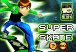 Бен 10:Бен 10 игры - Супер скейт