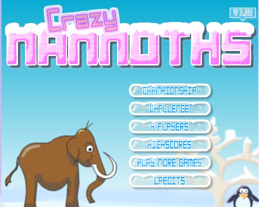 Играть в сумасшедших мамонтов онлайн