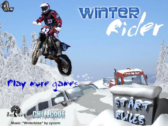 В играть в зимний мотокросс онлайн