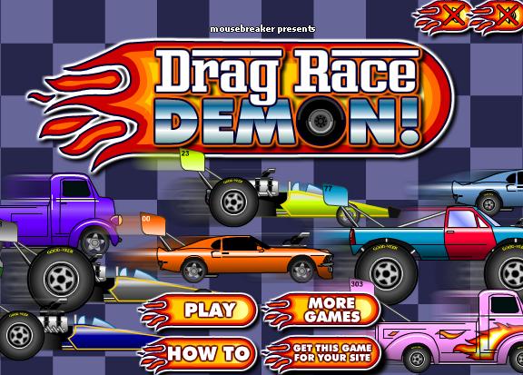 Играть в играть в демон гонки онлайн