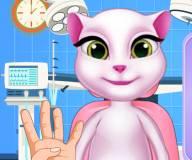 Говорящий кот:Говорящая Анжела лечит глаза
