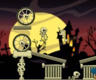 Игры для мальчиков:Скелет и тыквы