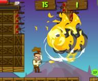 Игры про зомби:Ковбой охотник на зомби