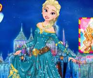 Одевалка принцессы Диснея Эльзы