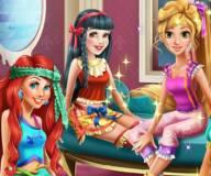 Пижамная вчеринка принцесс Диснея