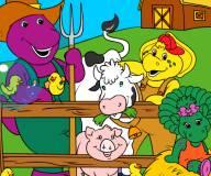 Барни на ферме