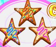 Супер сахарные печеньки звездочки