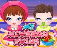 Мои новорожденные близнецы