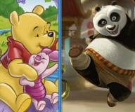кунг-фу панда:Винни Пух и Кунг-фу панда По