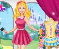 Дизайн платья Барби