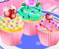 Красочный кекс