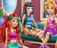 Пижамная вечеринка Ариэль