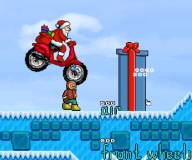 Игры на Новый год:Мотоцикл Санты