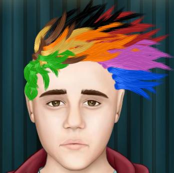 Джастин бибер причёски играть