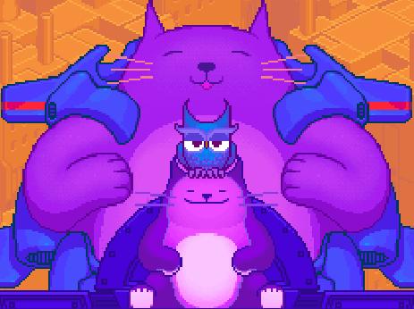 Игры двоих коты близнецы