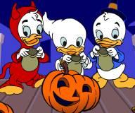 Хэллоуин с Билли, Вилли и Дилли