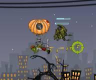 Игры про зомби:Зомби парашютист