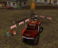 Игры про зомби:Зомби грузовик 3д