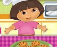 Игры Даша путешественница:Даща готовит крекеры