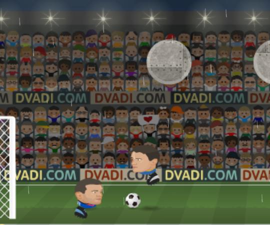 Игры головами футбол лига чемпионов играть