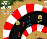 Игры гонки:Мини наскар 2 Экстремальная версия