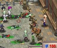 Игры про зомби:Перестрелка в городе зомби