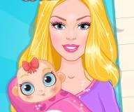 Барби делает детскую комату