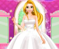 Свадебная прическа Рапунцель