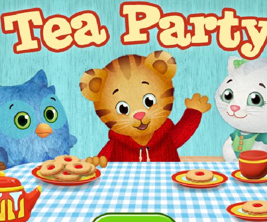 игра tea party