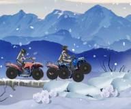 Игры гонки:Зимние гонки на квадроциклах 2