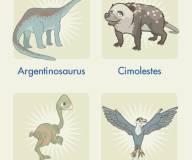 Найди всех динозавров