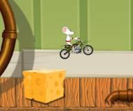 Мышь мотоциклист