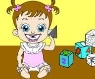 Раскраска малышка Хейзел