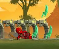 Игры лего:Лего Ниндзя Го мастера кружитцу