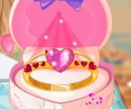 Дизайн обручального кольца Барби
