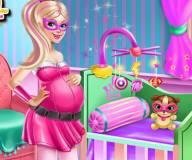 Переделка детской комнаты Супер Барби