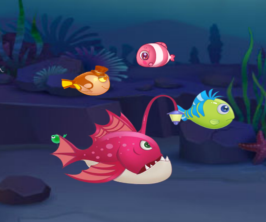 Рыба есть рыбу играть
