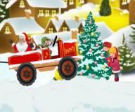 Игры на Новый год:Доставка рождественских эльфов