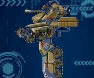 Трансформер робот танк