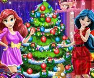 Принцессы Дисней и новогодгняя елка