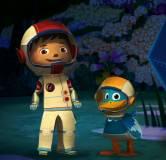 Зак и Кряк летят на луну