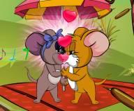 Том и джерри:Джерри целуется с подружко