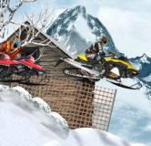 Игры гонки:Снегоходы на пересеченной местности