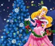 Принцесса Аврора украшает елку