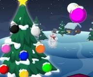 Игры на Новый год:Украшение новогодней елки