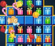 Новогодние подарки 3 в ряд