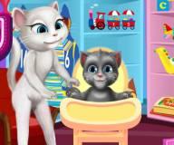 Говорящий кот:Маленьком говорящему Тому нужна игрушка