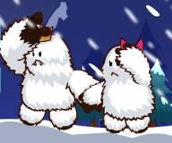 На двоих:Малыш снежный монстр