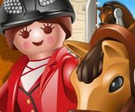 Конный клуб Всадница на лошади